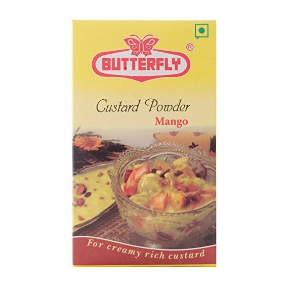 Butterfly (Twin Saver Pack) Custard Powder, Mango, 100g X 2