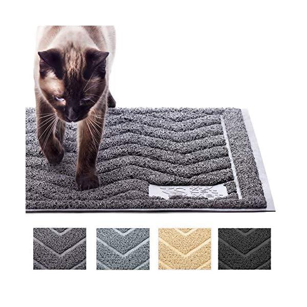 Cat Box My Cat Mat Cat Litter Mat Traps and Controls Kitty Litter... [tag]