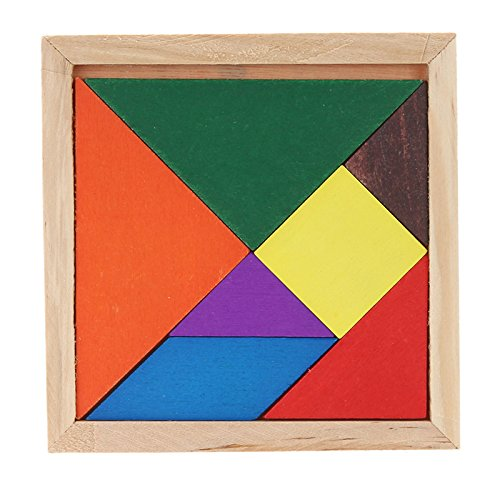 Body Wood Puzzle (GreenSun TM Math Jigsaw Puzzle Wooden Tangram Brain Teaser 3D Wood Puzzle Educational Developmental Kids Toy)