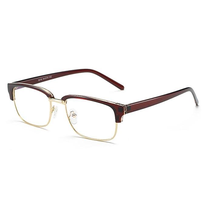 Para estrenar bdf2b ad9b1 TR90 Lentes rectangulares, Anti Blue Light Gafas Marco para ...