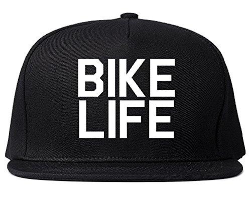 Mens Bike Life (Bike Life Bicycle Snapback Hat Cap Black)