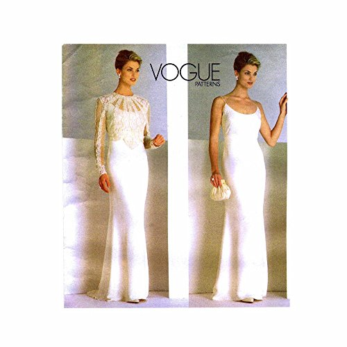 Misses Top and Dress Badgley Mischka Vogue 2065 Sewing Pattern Size 12 - 14 - 16