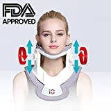 Neck Stretcher,Cervical Collar Traction Device,Neck Support Brace,Inflatable Cervical Pillow with Collar Adjustable for Home Use