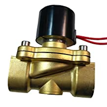 MonkeyJack 2W-250-25 24V AC 3/4' Electric Solenoid Valve Gas Water Fuel Air Solid Coil