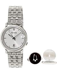 Bulova Men's Accutron II 96X128 Silver Stainless-Steel Quartz Watch