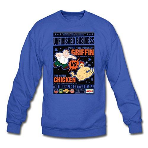family-guy-unfinished-crewneck-sweatshirt-by-spreadshirt-xxl-royal-blue