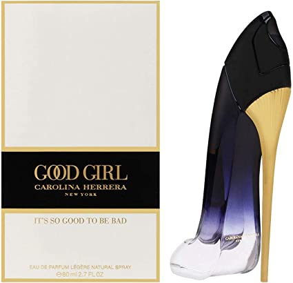 Carolina Herrera Good Girl, Agua de colonia para mujeres 80 ml.
