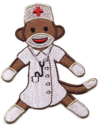 Nurse Puppet Black ([Single Count] Custom and Unique (3-1/4