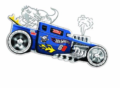 Wheels Speed Demon Piece Puzzle