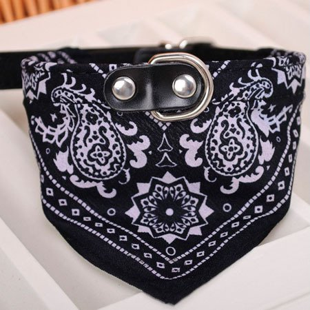 Hyalo(TM) 1Pc Lovely Pet Dog Scarf Collar Adjustable Puppy Bandana Quality Pet Cat Tie Collar