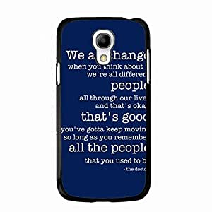 Doctor Who Samsung Galaxy S4 Mini Phone Case 061 Hipster Phone Case Anti-Scratch Samsung Galaxy S4 Mini Phone Protector Cover Case