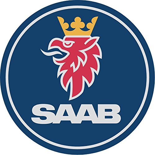 Saab Replacement Decal Sticker 8 Piece Set (Replacement Decal Set)