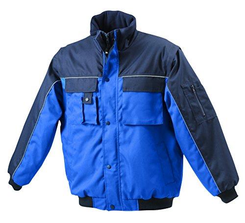 Giacca navy Imbottita Royal Con Staccabili Workwear Maniche Jacket rxrU6Rwq8