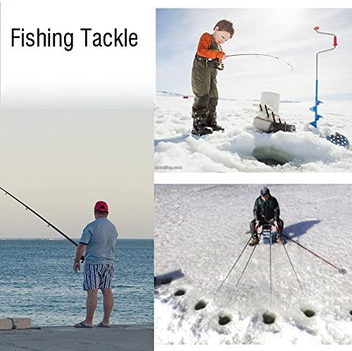 Mini Winter Ice Fishing Rod Telescopic Pole Sea Carp Feeder Accessory T7W7