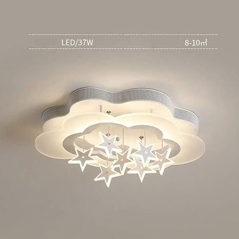 Lámpara de techo para habitación infantil, sencilla forma de ...