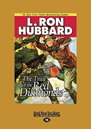 book cover of The Trail of the Red Diamonds