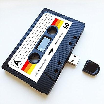 USB, diseño de casete retro, Quirky, música, fresco, lindo ...