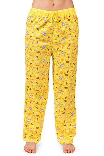 Yellow Womens Pajamas - 4