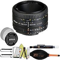 Nikon AF FX NIKKOR 50mm f/1.8D Lens (Certified Refurbished) (Basic Kit)