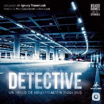 Maldito Games Detective - Juego de Mesa [Castellano]: Amazon.es ...
