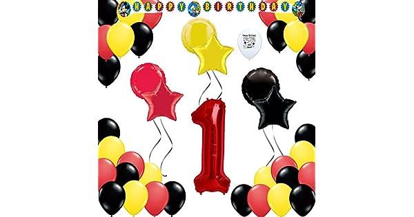 Amazon.com: Mickey Mouse fiesta de colores suministros 1st ...