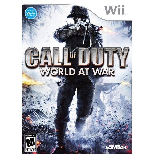 Call of Duty: World at War - Nintendo Wii (Call Of Duty Black World At War)