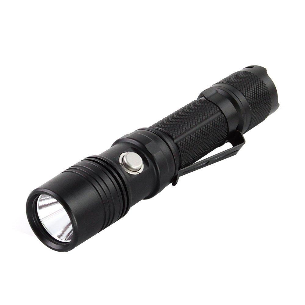 ThruNite® TN12 2016 XP-L Max 1100 Lumen EDC Die Outdoor-Taschenlampe fuer jedermann! Unser Dauerbrenner! Viel Lumen fuer wenig Geld. Einfache Handhabung, kompakte Abmessungen, wasserfest, Strobe, 5-Betriebsstufen mit 'Memory', hochwertiges Zubehoer. Werte