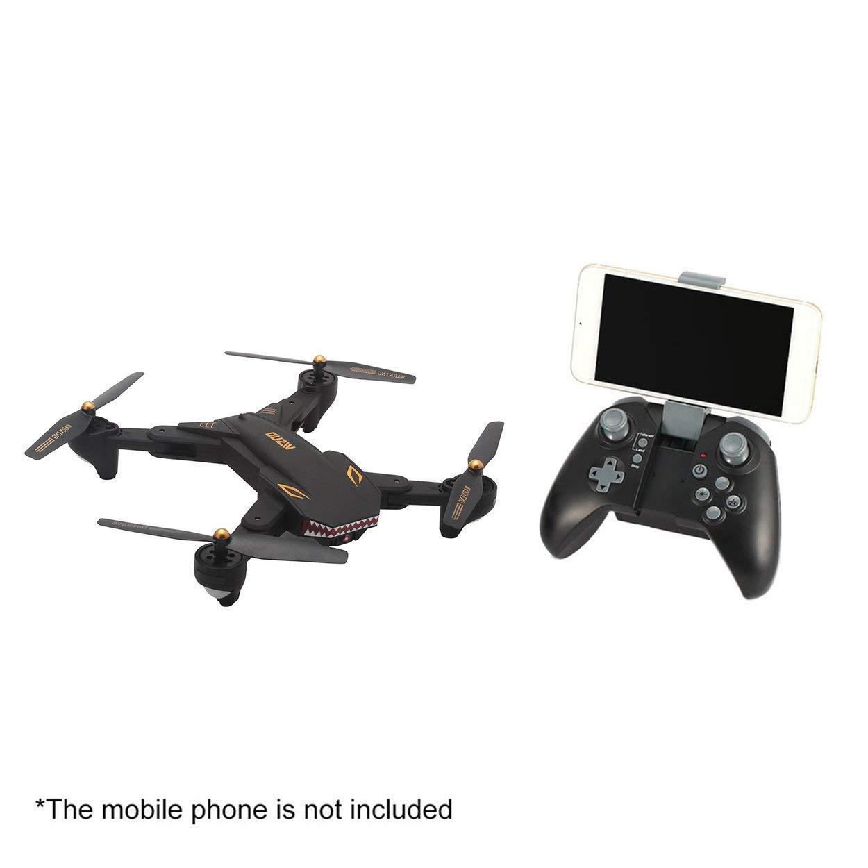 Lorenlli XS809S 2,4G RC Drone mit 0.3MP Kamera 4CH Faltbare Mini Quadrocopter Headless Modus Höhe Halten WiFi FPV Drone