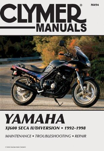 Yamaha XJ600 SECA II 92-98 (CLYMER MOTORCYCLE REPAIR) (98 97 96 1995 Car)
