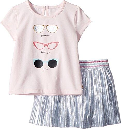 Kate Spade New York Kids Baby Girl's Sunglasses Skirt Set (Infant) Sonata Pink 24 Months by Kate Spade New York