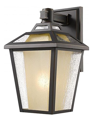 532S-ORB Oil Rubbed Bronze Memphis 1 Light Outdoor Wall Sconce
