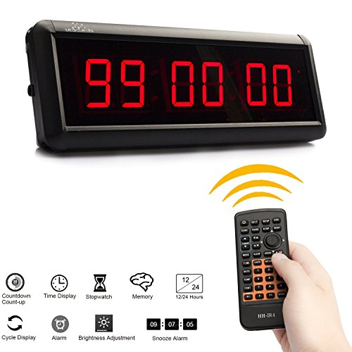 Leadleds Digital Display Countdown Stopwatch product image