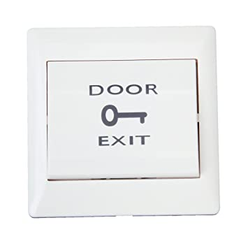 Buy Generic Door Exit Push Release Button Switch for Electric Access Control White Online at Low Prices in India - Amazon.in  sc 1 st  Amazon.in & Buy Generic Door Exit Push Release Button Switch for Electric Access ...