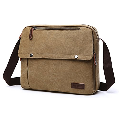 Laptop Vintage Bags Sport School Bag Bags Travel School Bags Bags Messenger Outreo Beige Bag Cloth Woman Man Shoulder Original vTxEvO4q
