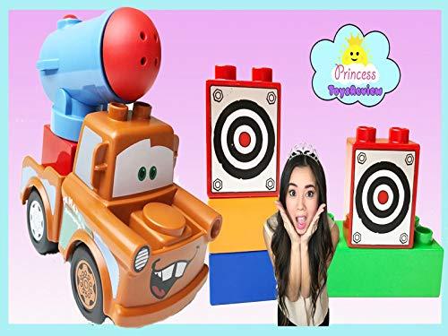 Clip: Lego Duplo Pixar Disney Cars 2 Tow Mater Toy Unboxing