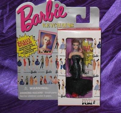 Blonde Barbie Solo in the Spotlight Keychain 1995 -