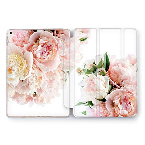 Wonder Wild Gentle Peonies iPad Case Mini 1 2 3 4 Air Floral iPad Pro 10.5 12.9 Tab 2018 2017 9.7 inch Apple 5th 6th Generation Girly Pretty Cute Floral Plastic Peony Bud Petal Stand Smart Cover