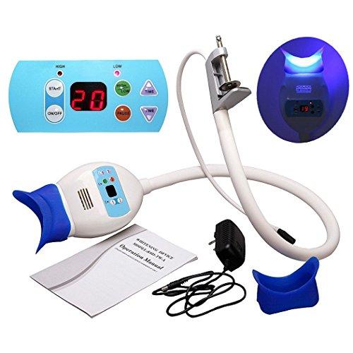 NSKR HPS Dental Teeth Whitening Bleaching Light Lamp Accelerator Holding on Table LED Teeth Whitening Machine (Best Teeth Whitening Machine)