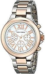Vernier Women's VNR11157TTR Vernier Analog Display Japanese Quartz Watch