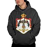 DerlonKaje Hoodies for Men Sweater Pullover Hooded Sweatshirt Jordan's National Emblem