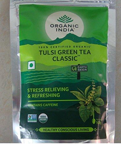 Organic India Tulsi Green Tea 100gms(Pack of 2)