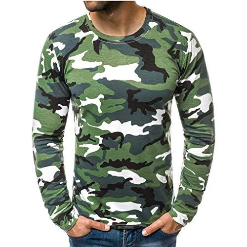 Steelers Halloween Memes (Fashion Men's Casual Tops Slim Camouflage T Shirt Printed Long Sleeve)