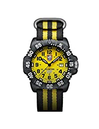 Luminox Men's 3955SET Navy Seal Colormark Yellow Watch