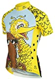 Big Bird Muppets Sesame Street Cycling Jersey by Brainstorm Gear Women's 2XL Short Sleeve