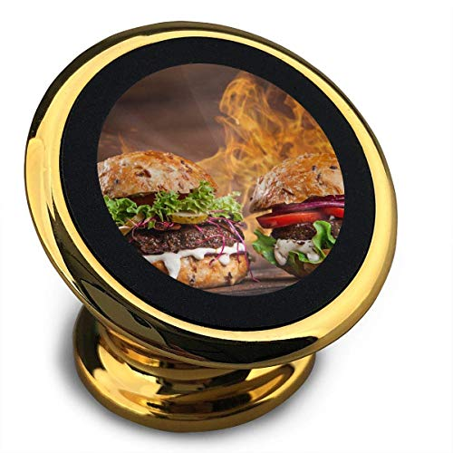 Universal Magnetic Phone Car Mounts Magnet Holder Two Beef Hamburgers Magnetic Mount for Phone 360° Rotation