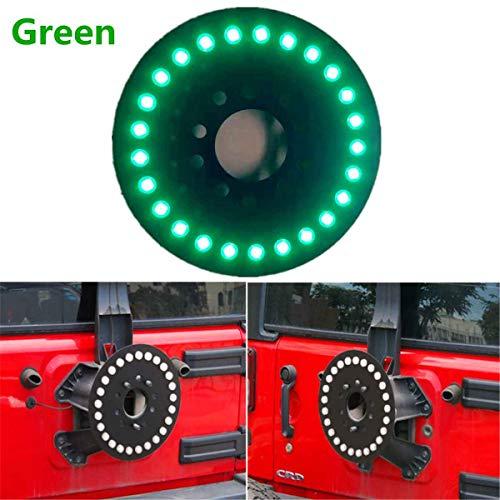 (Universal LED Car Rear Third Brake Light Assembly For Jeep For WranglerTJ/JK 1997-2006 3rd Brake Lights Spare Tire Lights)