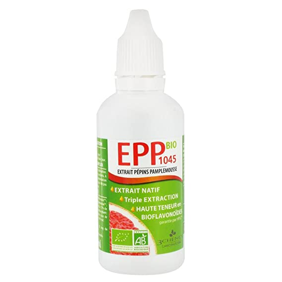 3 Chnes EPP1200 BIO Grapefruit Seeds Extract 50 ml by Les 3 Chnes: Amazon.es: Salud y cuidado personal