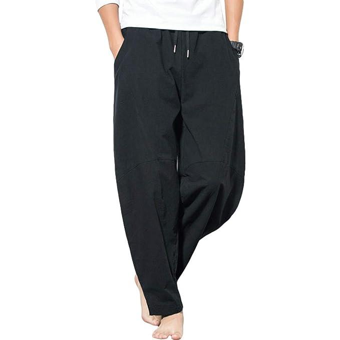 Amazon.com: ZooBoo Paracaídas Harem chinos pantalones – Kung ...