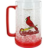 cardinals freezer mug - St. Louis Cardinals Crystal Freezer Mug