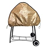 Abba Patio BBQ Grill Cover, Waterproof 27″ W x 45″ H, Brown Review